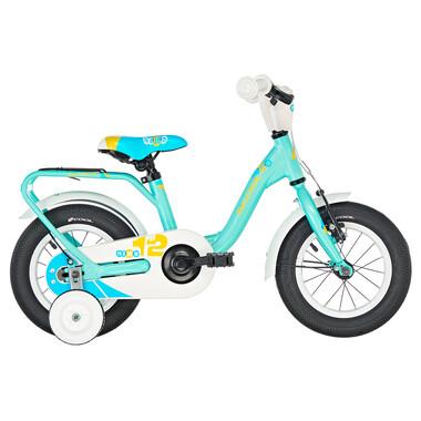 """Vélo Enfant S'COOL NIXE Alu 12"""" Bleu/Blanc"""